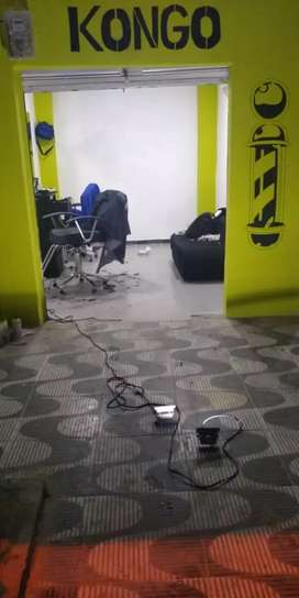 Se vende muebles de barberia