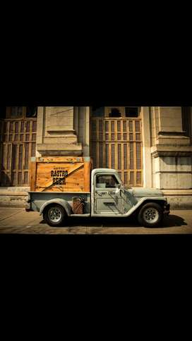 Beer truck Rastrobeer 4 canillas