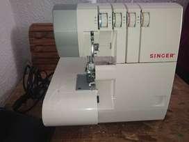 Maquina de coser Singer Overlock.