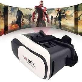 Gafas Realidad Virtual 3D VR BOX Bluetooth