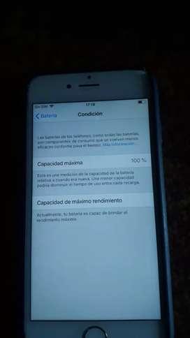 iphone 6 128Gigas Cond. bateria 100%