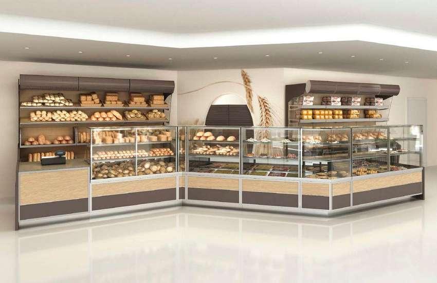 Muebles de panaderia a pedido somos fabricantes! . de todos esos model 0