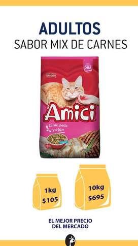 Alimento para mascotas! Los mejores productos al mejor precio, la mejor compra garantizada