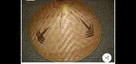 Sombrero chino de bambú
