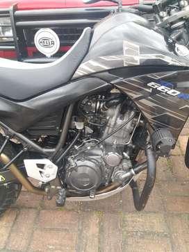 Moto Yamaha Xt 660 2015 Sólo Efectivo
