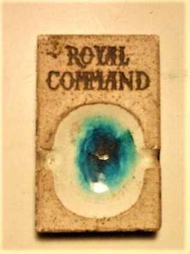 Cenicero Publicidad Royal Command Años 70