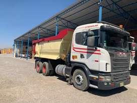 Vendo volquete Scania 2012