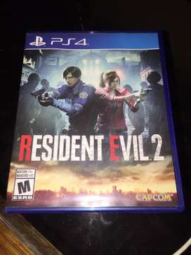 Juego ps4 resident evil 2