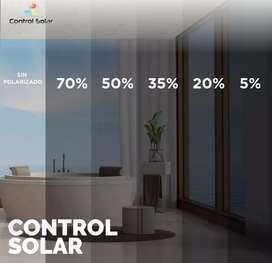 POLARIZADO. CONTROL SOLAR.