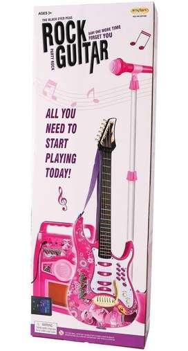 Guitarra microfono y parlante infantil