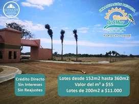Terreno Playero/ Crédito Directo/ Puerto Cayo, Manabí SD4