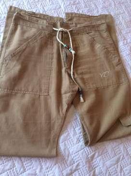 Pantalon gabardina