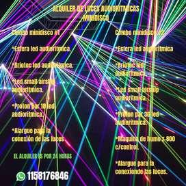 Alquiler de luces audioritmicas