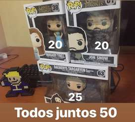 Pack de Funkos Game Of Thrones