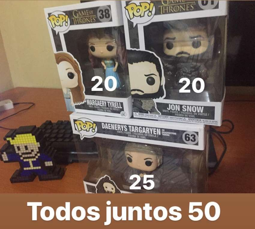 Pack de Funkos Game Of Thrones 0