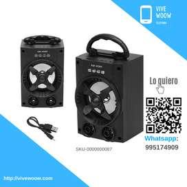 Parlante Bluetooth portátil Y-XC007 Super Bass Music con Radio FM , USB , SD , Altavoz Marc. Yulians