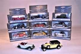 Carros de colección metálicos