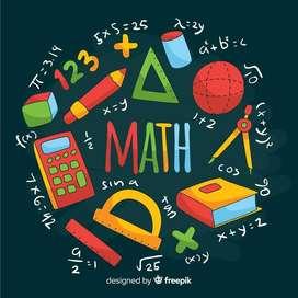 Clases virtuales, trabajos y asesorías en el área de matemáticas.
