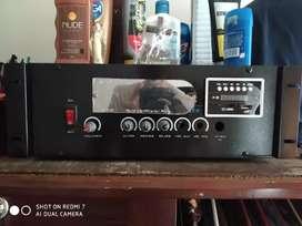 Amplificador sonido + cabinas de sonido