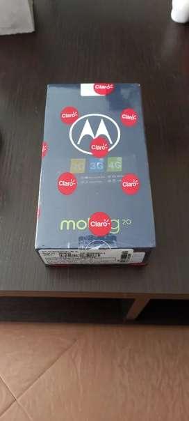 Motorola G20 totalmente nuevo!!