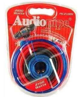 Kit De Cables Para Amplificador 2100 W. Pk-2100sx Audiopipe