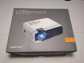 """Proyector APEMAN LC350 / 800x480P Nativo / 3500 lúmenes / 130"""" Recomendado / Altavoz estéreo 3W"""