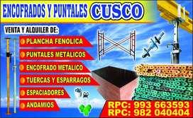 ALQUILER DE PUNTALES METÁLICOS, ANDAMIOS, ENCOFRADOS