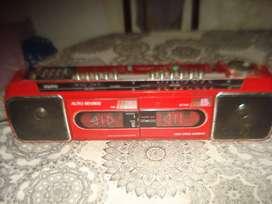 Radiograbador Sanyo M W737k Vintage Andan Radios No Envio
