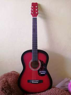 Guitarra Memphis/Rojo