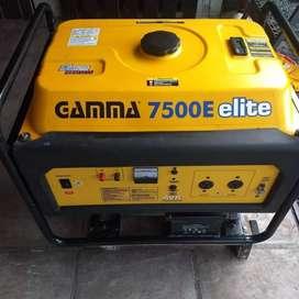 Vendo Grupo Electrogeno Gamma 7500 elite