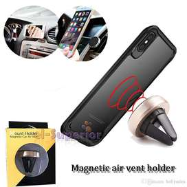 Soporte Holder Auto Magnetico Gps Iphone Samsung Lg Celular Universal