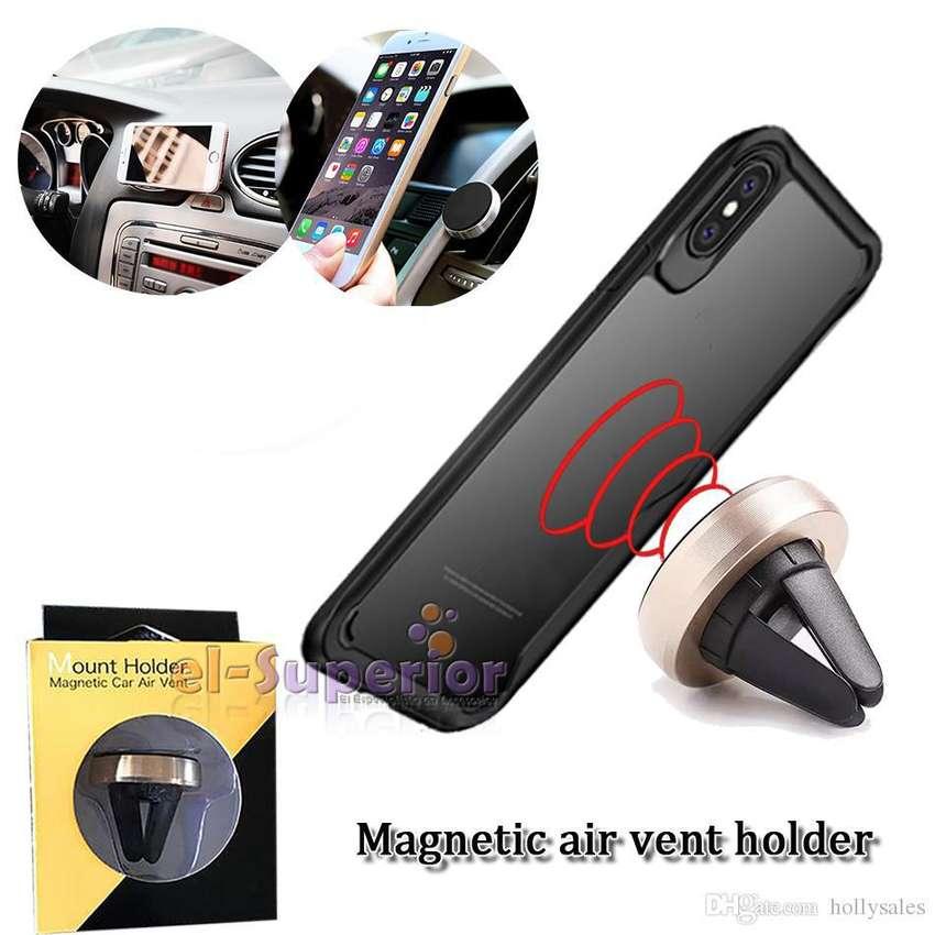 Soporte Holder Auto Magnetico Gps Iphone Samsung Lg Celular Universal 0