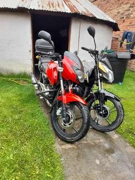 Se permutan dos motos por carro.. pulsar 180 modelo 2017 y Víctory nitro modelo  2021 con documentos al día