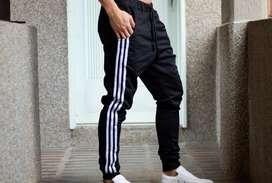 Sudadera Jogger Pantalon Tres rayas Negro - Promocion