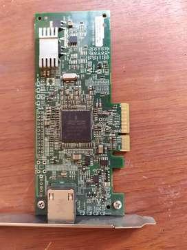 Vendo o cambio targeta de red de 1, para  servidor Intel de giga 1000 marca Intel compatibles con IBM, HP, Lenovo, dell