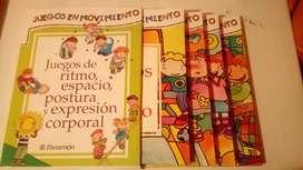 JUEGOS EN MOVIMIENTO (libros)