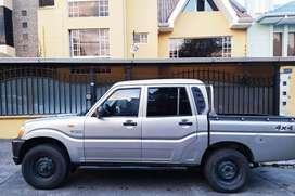 Camioneta mahindra doble cabina turbo diesel 4*4. Transmisión manual. Aire acondicionado. Full.Papeles al día.