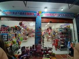 Mercancia para negocio de piñateria y variedades