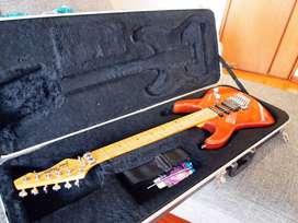 Guitarra Eléctrica John Taylor + Estuche Rígido de Viaje. Perfecto Estado, hermosa!