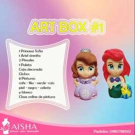 kit de arte niños