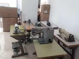 Maquina filetiadora , maquina precilladora  y maquinas de coser