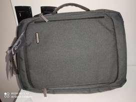 Mochila maletin crepier gris oscuro