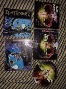 CD originales de Iron Maiden