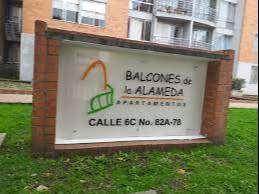 Apartamento ubicado en el conjunto Balcones de la alameda, recepcion, vigilancia privada, salones comunales.