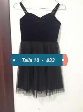 Vestido de Niña Talla10