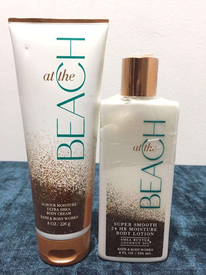 Bath and body works At the beach