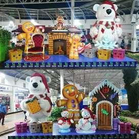 Figuras en icopor 3D decoración comercial Fiestas temáticas