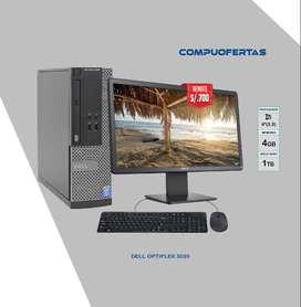 DELL OPTIPLEX 3020 CORE I5 CON LED 20