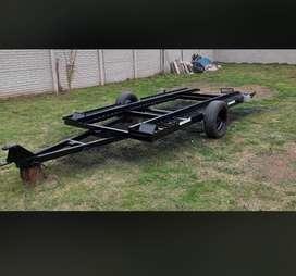 Vendo trailer basculante
