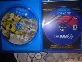 Se venden juegos FIFA 17 y FIFA 19